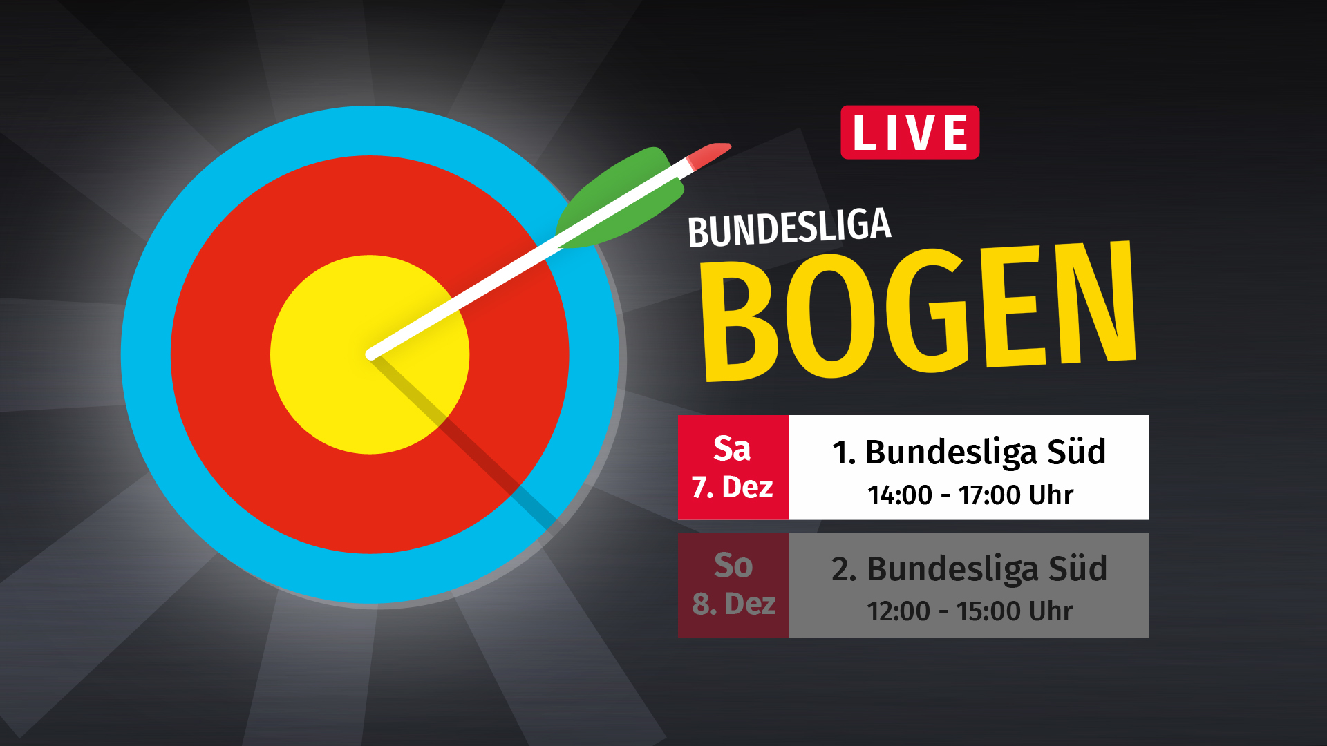 Livestream aus der Bundesliga Süd