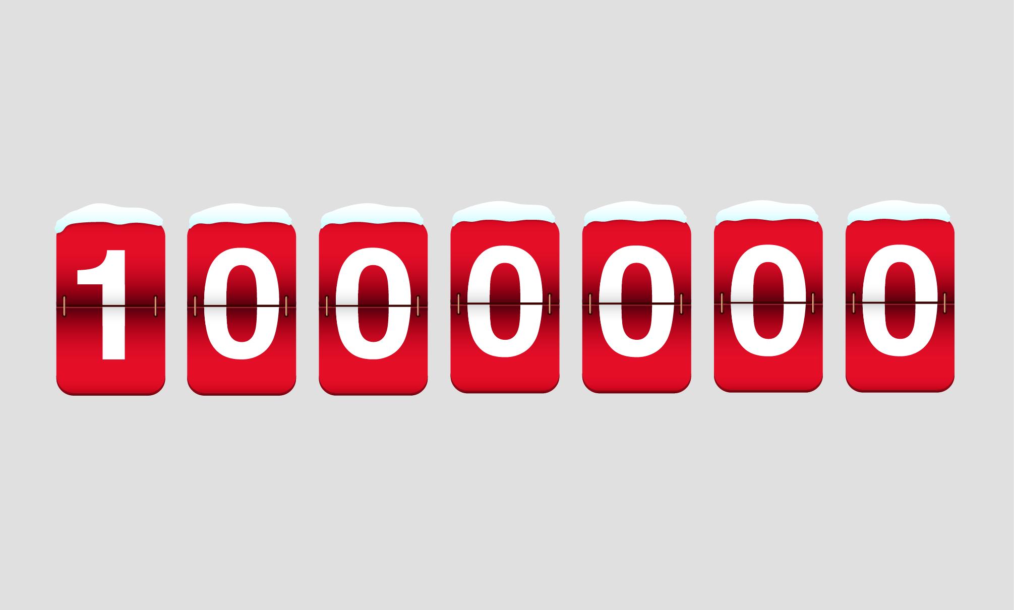 1.000.000 Pfeile